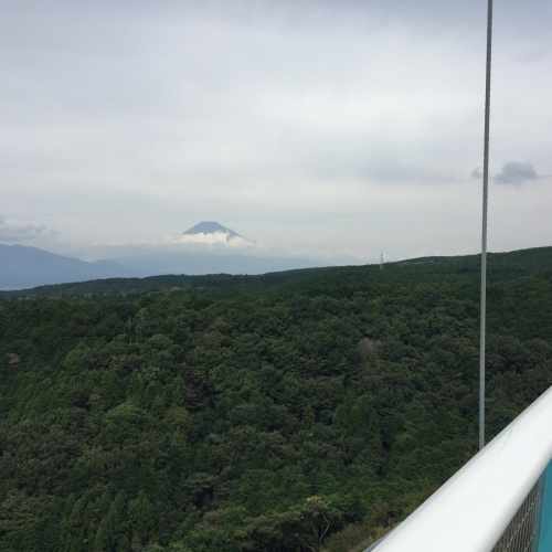 MT. FUJI up close from MISHIMA SKYWALK 三島スカイウォーク