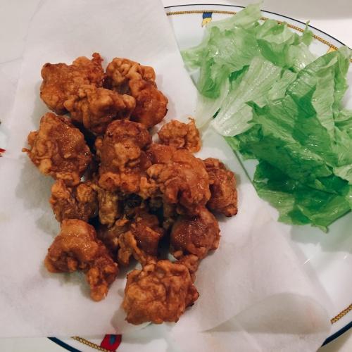 Karaage-fried chicken Japanese style