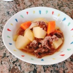 Nikujaga- boiled meat and vegetables